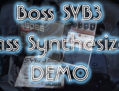 Demo of Boss SYB3 – Discontinued Bass Synthesizer